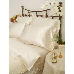 Charmeuse II Satin Queen-size Sheet Set with Bonus Pillowcases