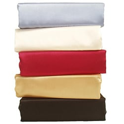 Charmeuse II Satin King-size Sheet Set with Bonus Pillowcases
