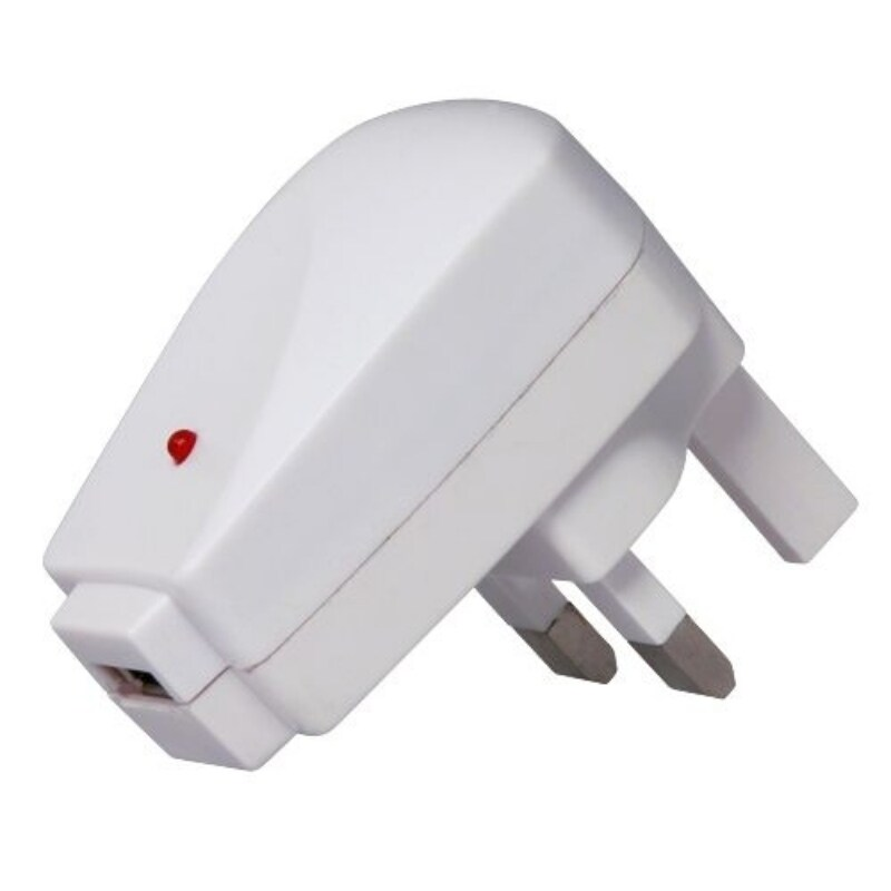 INSTEN UK USB Travel Charger Adapter for Apple iPod iPhone 4/ 4S/5/ 5S/ 6