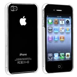 Clear Rear Crystal Case for Apple iPhone 4 AT&T/ Verizon
