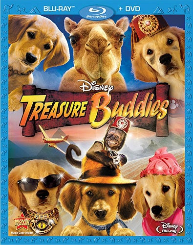 Treasure Buddies (Blu-ray/DVD)