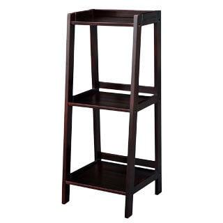 Espresso Classic Styling 3-shelf Bookcase