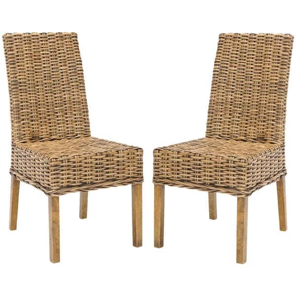 Safavieh Rural Woven Dining St Thomas Indoor Wicker Brown