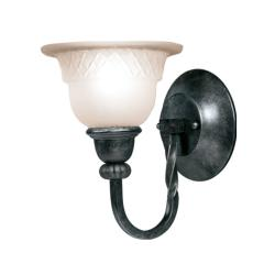 Woodbridge Lighting Amelia 1-light Charcoal Bath Sconce