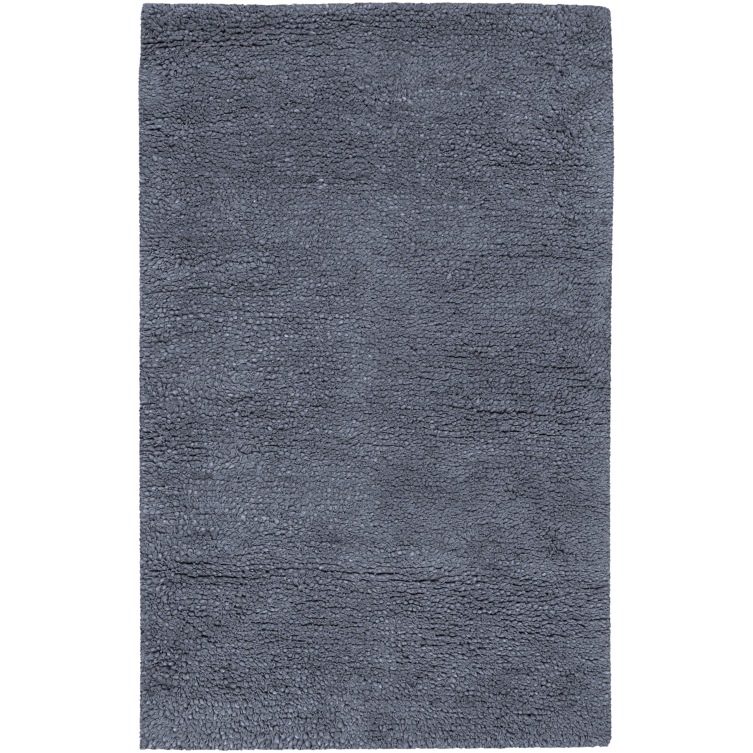 Hand-woven Metropolitan New Zealand Wool Plush Shag Rug (8' x10'6)