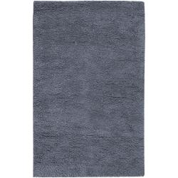 Hand-Woven Metropolitan Casual New Zealand Wool Plush Shag Rug (9' x 13')