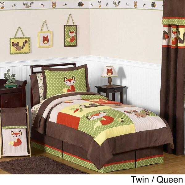Sweet JoJo Designs 'Forest Friends' Bedding Set