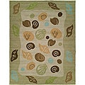 Ocen Hand-tufted Loop Indoor/ Outdoor Rug (5' x 8')