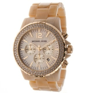 Michael Kors Women's Glitz Chronograph Watch
