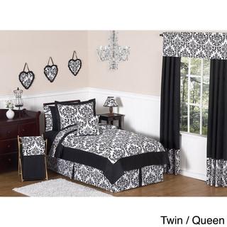 Sweet JoJo Designs 'Isabella' Black Bedding Set