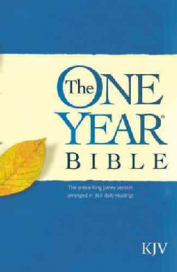 The One Year Bible: King James Version (Paperback)
