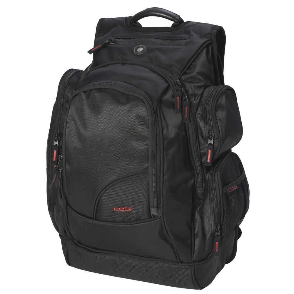 CODi Black Ballistic-nylon Triple-compartment Sport-Pak Backpack