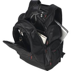 CODi Black Ballistic-nylon Triple-compartment Sport-Pak Backpack