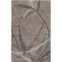 Smithsonian Collection Hand-knotted Charlbury Floral Wool Rug (8' x 11')