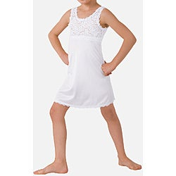 Girl's Lacy Slip/ Nightgown
