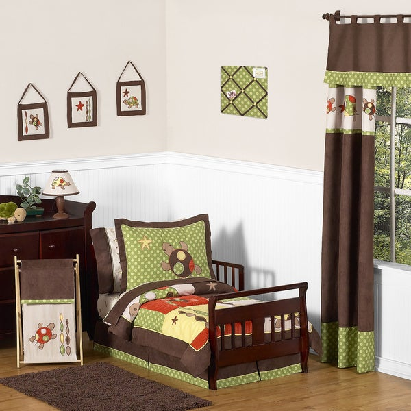 Sweet JoJo Designs Turtle 5-piece Toddler Bedding Set