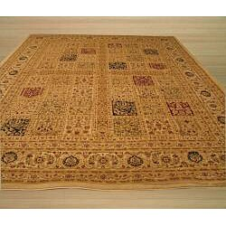 Magnificent Panel Tabriz Rug (9'2 x 12'3)