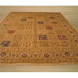 Magnificent Panel Tabriz Rug (7'10 x 9'10)