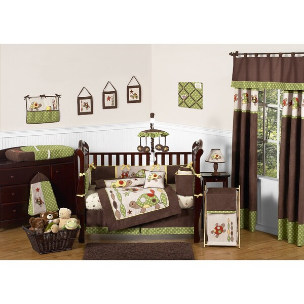 Sweet Jojo Designs Turtle 9-piece Crib Bedding Set