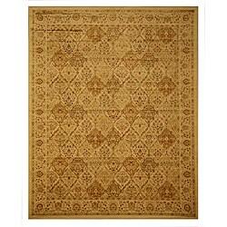 Panel Kashmir Rug (5'3 x 7'7)