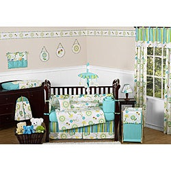 Sweet Jojo Designs Layla 9-piece Crib Bedding Set