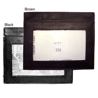 Men's Leather Credit/ Business Card Holder