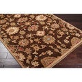 Hand Knotted Belper Hand Spun New Zealand Wool Rug (5'X8')