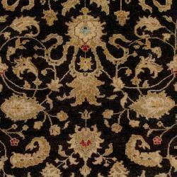 Hand Knotted Bentham Hand Spun New Zealand Wool Rug (8'X11')