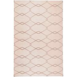 Jill Rosenwald Hand Woven Birchwood Wool Rug (5' x 8')