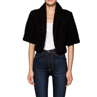Tabeez Faux Fur Shrug