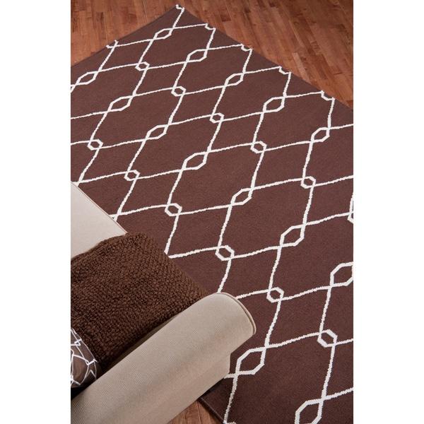 Jill Rosenwald Hand Woven Birkenhead Wool Rug (5' x 8')
