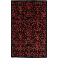 Candice Olson Hand Tufted Kirthar  New Zealand Wool Rug (9' x 13')