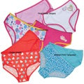 Girl's Cotton Boxer Panties (Pack of 2)