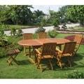 International Caravan Royal Tahiti 'Alicante' 7-piece Outdoor Dining Set