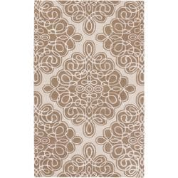 Candice Olson Hand-tufted Annecy Geometric Pattern Wool Rug ( 9' x 13' )