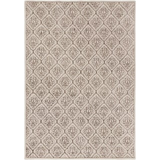 Candice Olson Hand-tufted Troyes Contemporary Geometric Wool Rug ( 9' x 13' )
