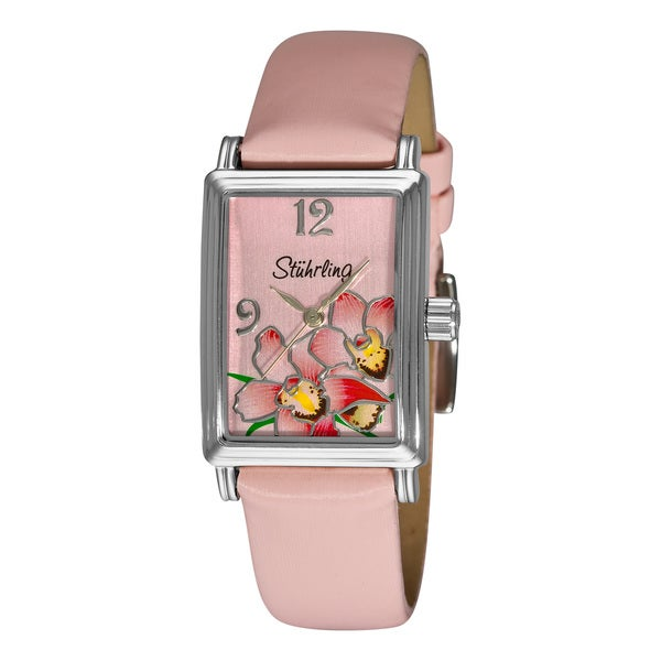 Stuhrling Original Women's Botanica Girl Swiss Quartz Watch