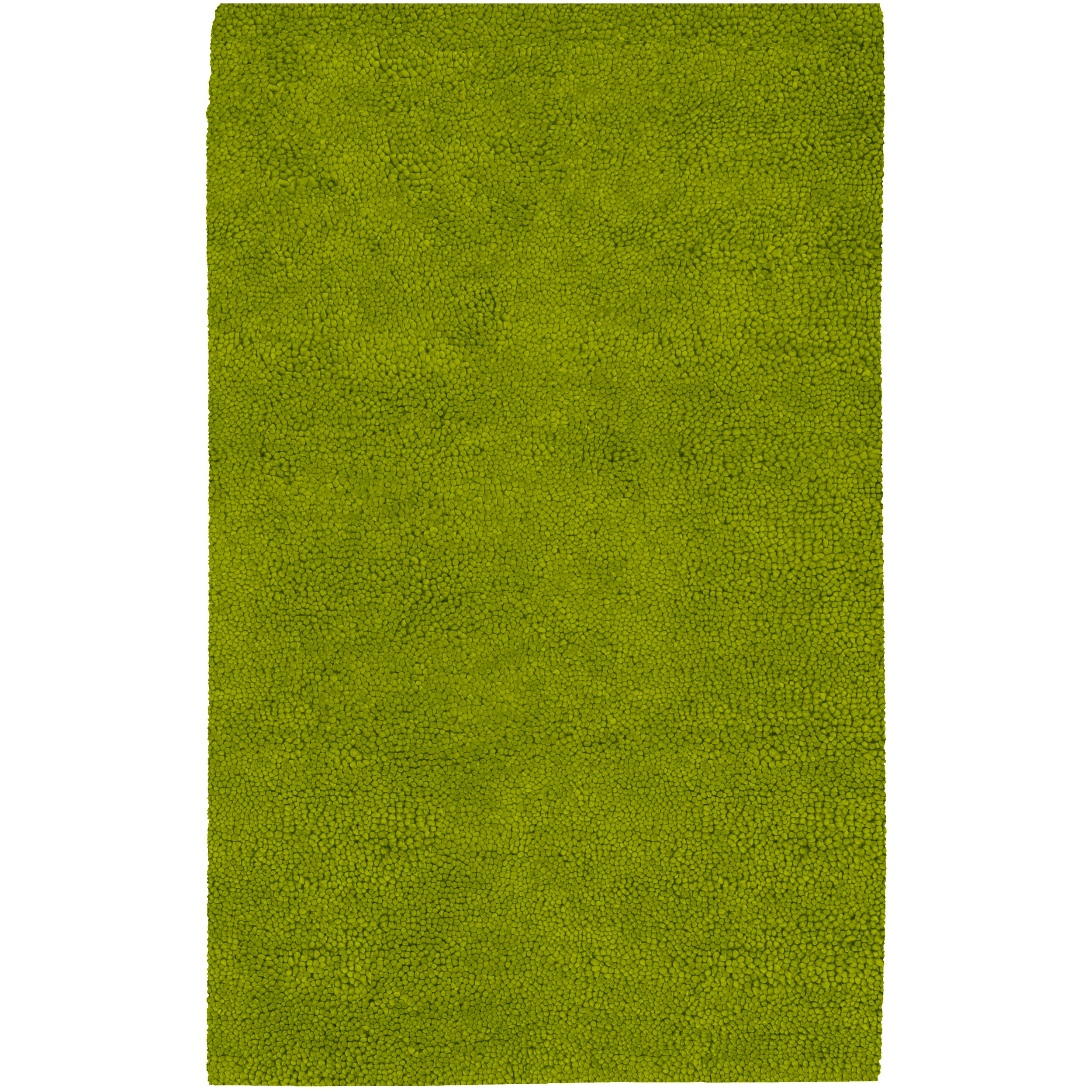 Hand-woven Pavia Colorful Plush Shag New Zealand Felted Wool Rug ( 3'6 x 5'6 )