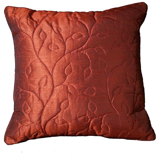 LNR Home Currant 18-inch Contemporary Pillow