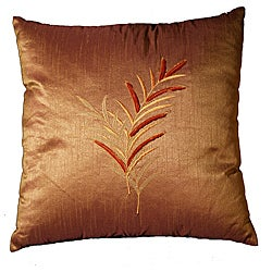 LNR Home Ratton Velvet Thistle 18-inch Pillow
