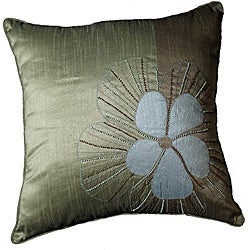 LNR Home Pedal Moshi 2-tone Willow 18-inch Pillow