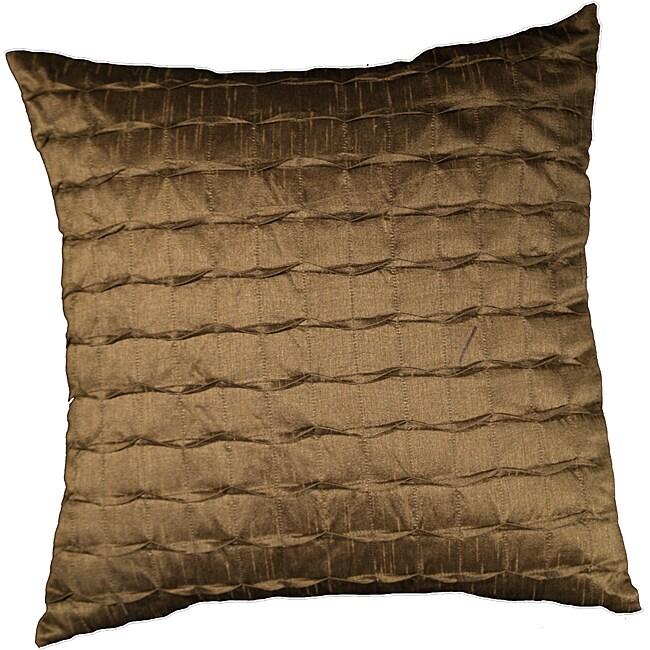 LNR Home Clay Tufted Vanesa Ribbs 18-inch Pillow
