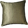 LNR Home Contemporary Wavy Margrite Willow Ribbs 18-inch Pillow (Set of 2)