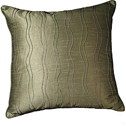 "Wavy Margrite Willow Ribbs 18"" Pillow (Set of 2)"