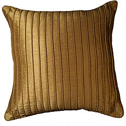 LNR Home Marlane Ribbs Clay 18-inch Pillow