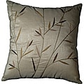 "Sedge Leaves Ivory 18"" Pillow set of 2"
