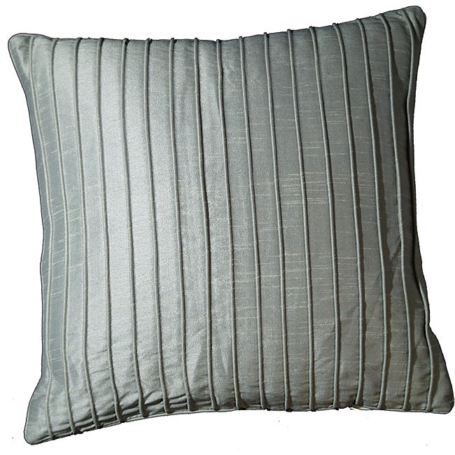 LNR Home Marlene Ribbs Icicle 18-inch Pillow