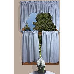 Dublin Stipe 5-piece 24-inch Curtain Set