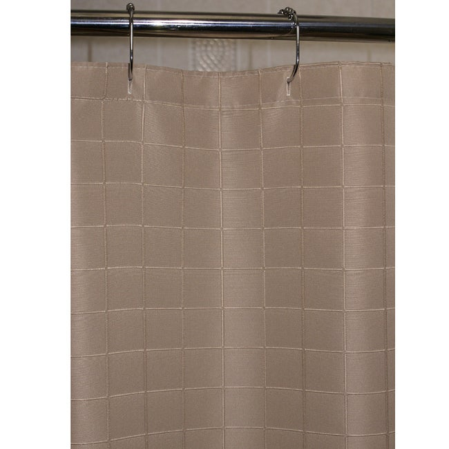 Lineation Dune Polyester Shower Curtain
