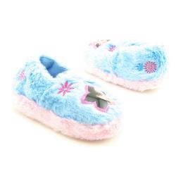 Moxie Girlz Infant Toddler Light Blue Slippers